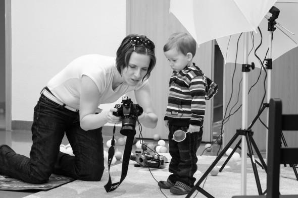 Anyák napi fényképezés
