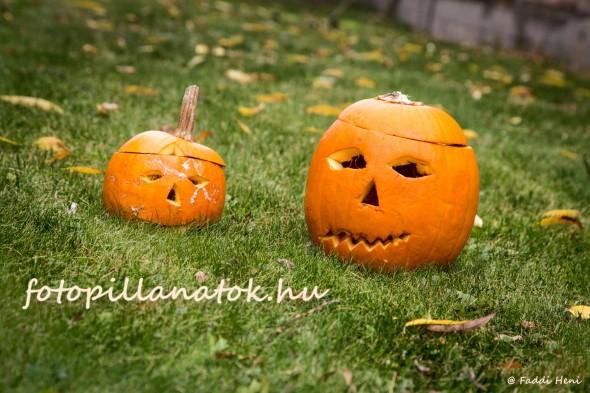 A Halloween jegyében
