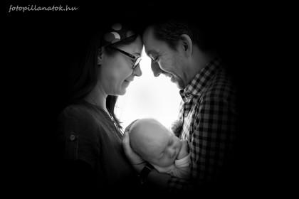 Baba és újszülött fotók