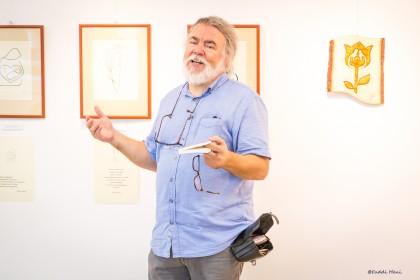 Simon András grafikus életmű kiállítása
